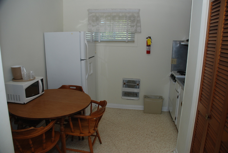 Efficiency Hotel Room - Kitchen